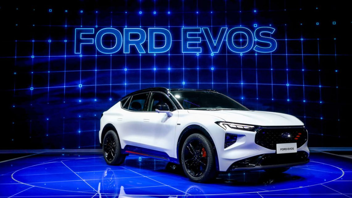 New 2021 Ford Evos SUV unveiled at Shanghai Motor Show