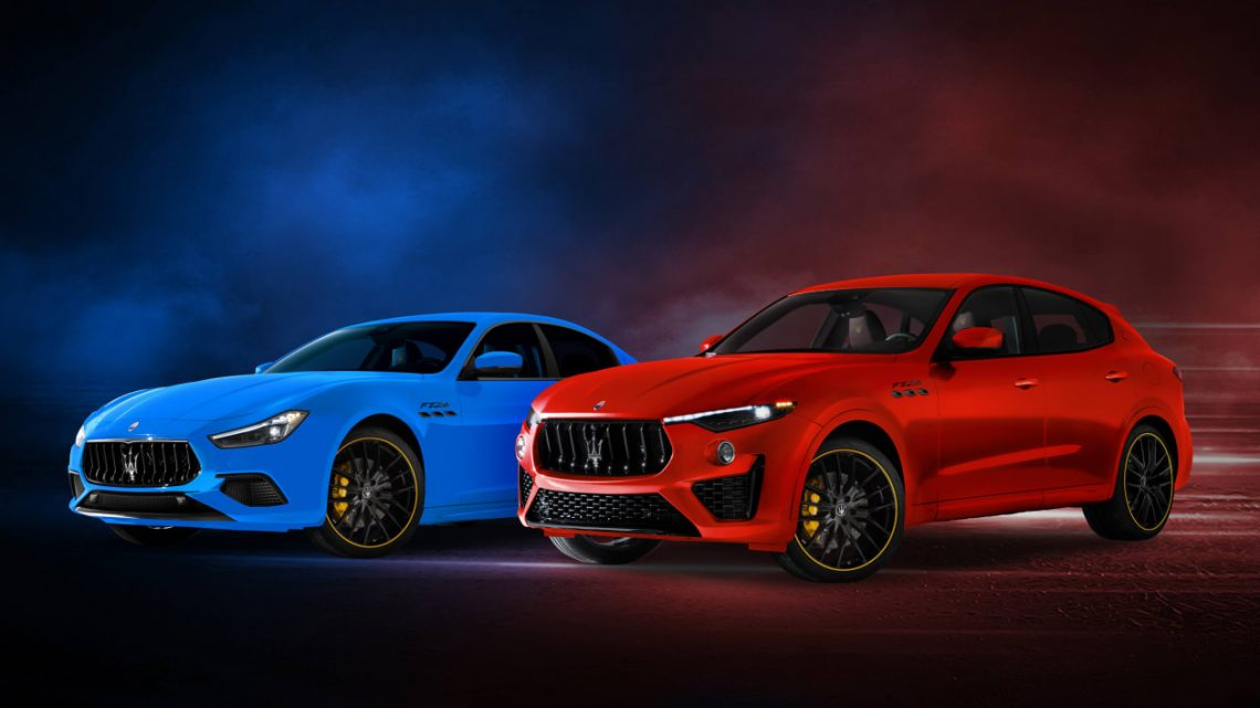 New Maserati Levante and Ghibli F Tributo unveiled