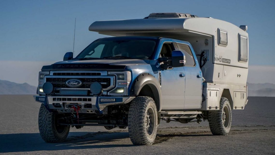 Nimbl Evolution Ready For Adventure With Expandable Living Space