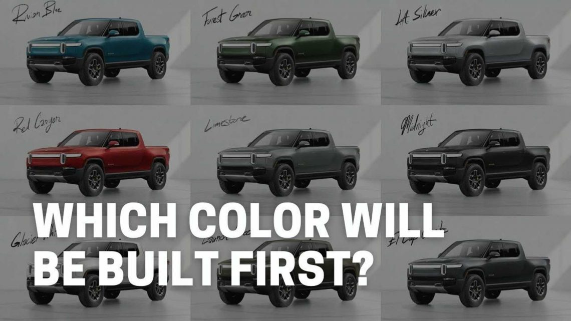 Rivian R1T, R1S Deliveries Are Not Only Based On Pre-Order Date