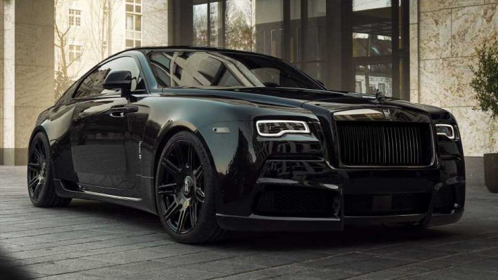 Sinister Rolls-Royce Black Badge Wraith Tuned To Over 700 HP