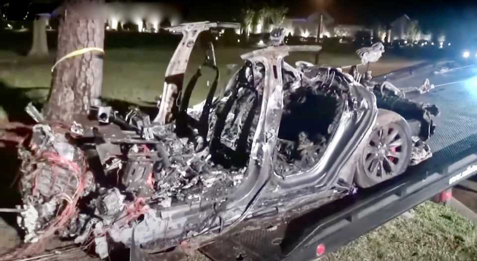 Tesla Admits One Autopilot Feature Was Engaged During Deadly Texas Crash