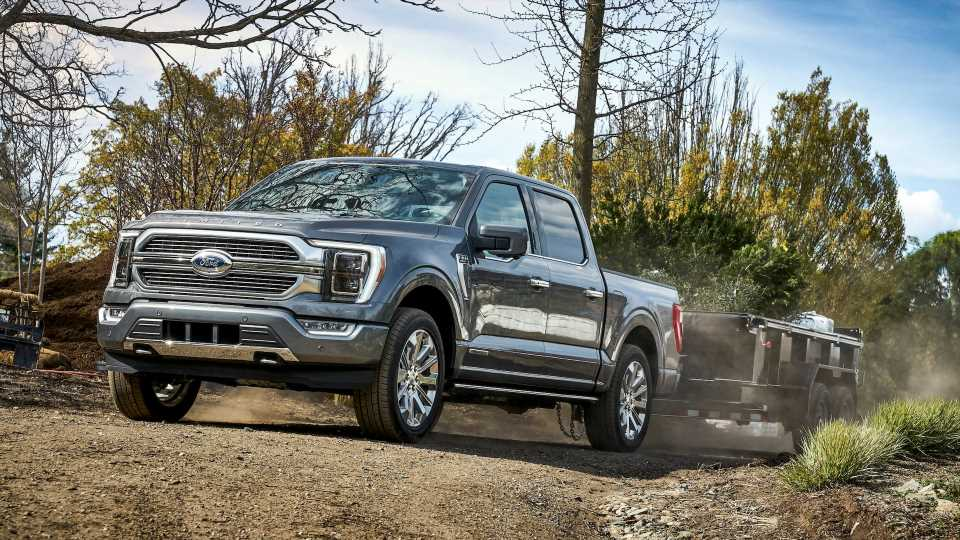 The 2021 Ford F-150 Will Get an Onboard Scale to Measure Payload