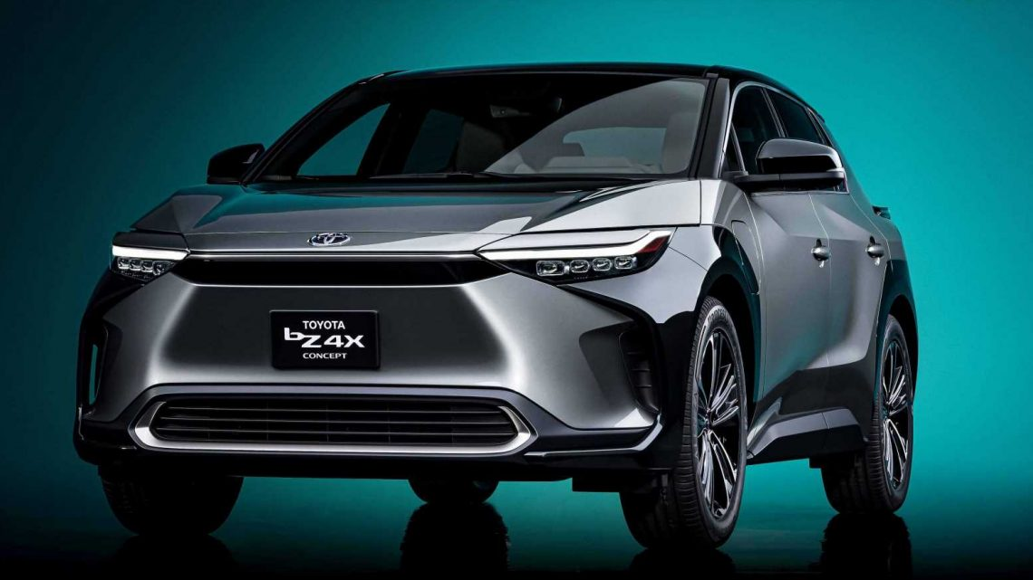 The Toyota bZ4X Concept Hints at Things to Come