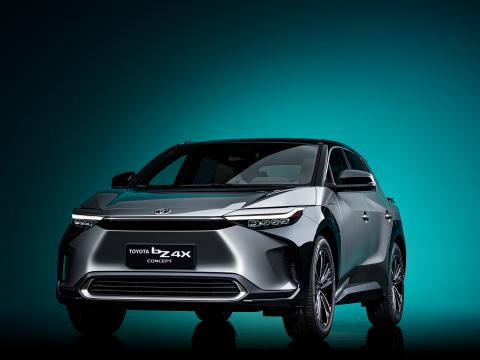 Toyota bZ4X electric SUV concept unveiled