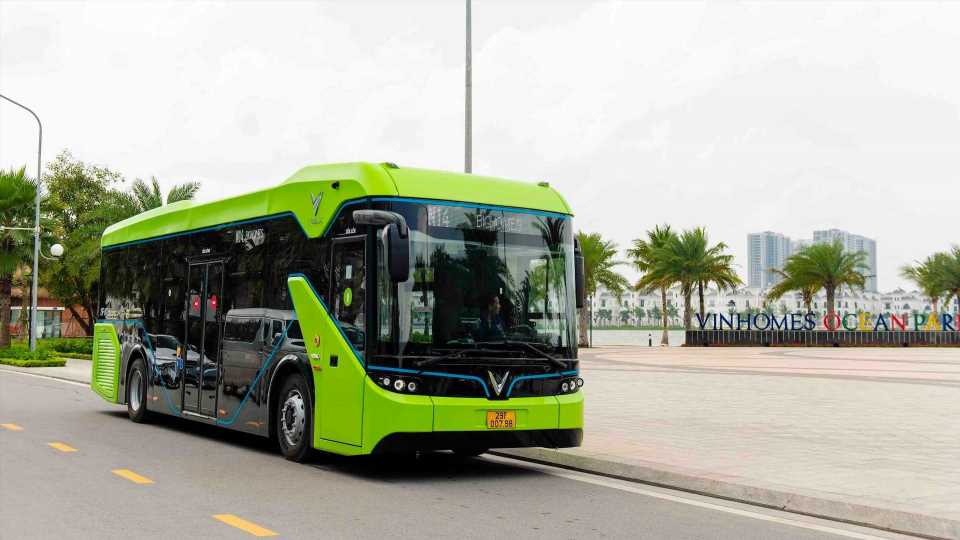 VinBus Launches First Electric Bus In Vietnam