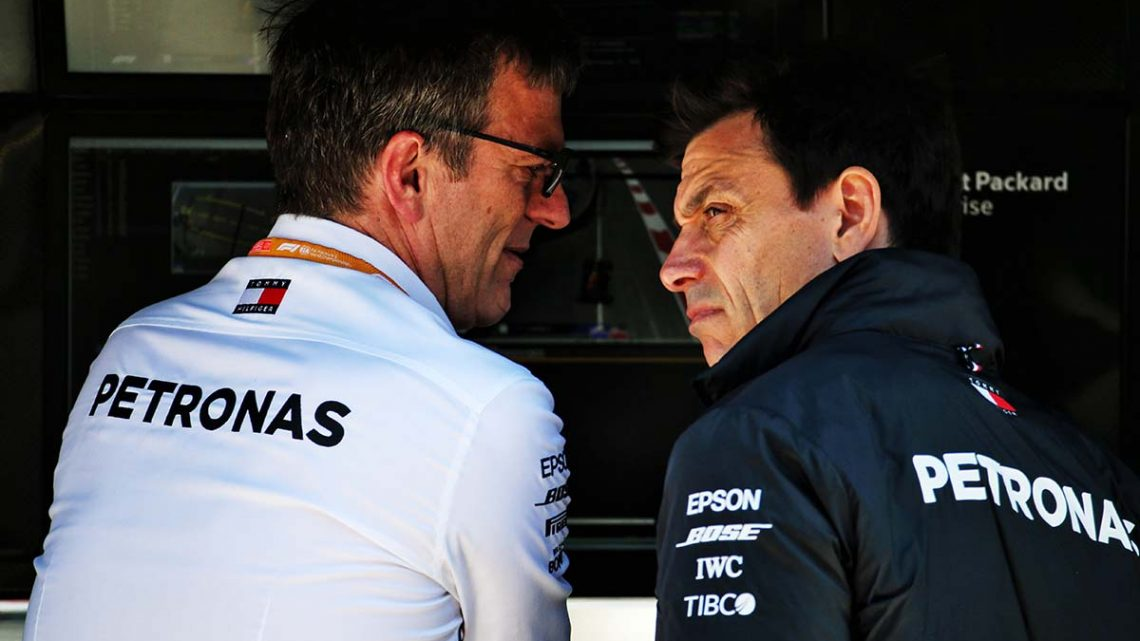 Wolff stopped Allison leaving Mercedes for good