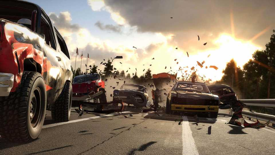 Wreckfest Comes to PS Plus for PS5 Owners This May