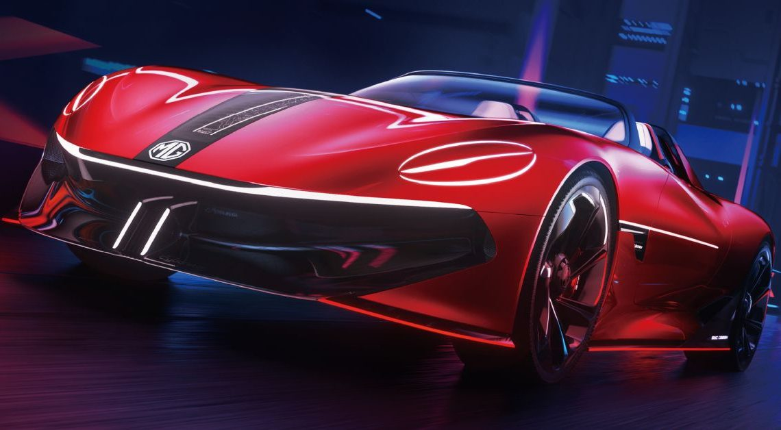 MG Cyberster concept unveiled, to debut at Shanghai – 0-100 km/h in under 3 seconds, over 800 km range! – paultan.org