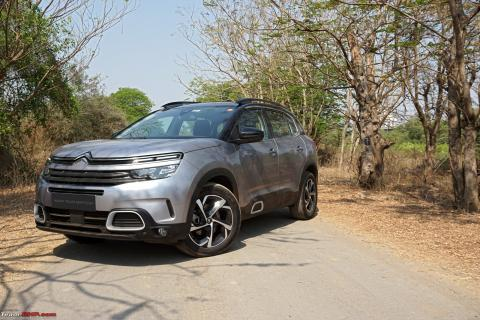 Citroen C5 Aircross launched at Rs. 29.90 lakh