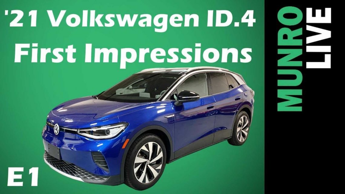 Sandy Munro Checks Out Volkswagen ID.4: First Impressions