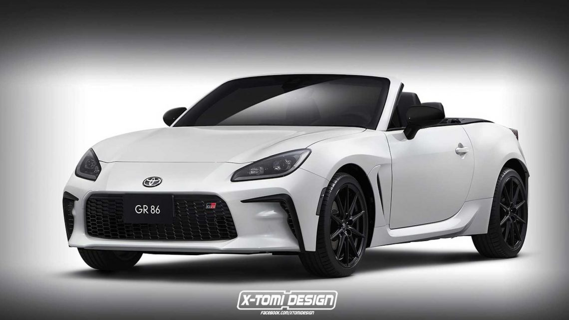 New Toyota GR 86 Turned Into Convertible In Unofficial Rendering