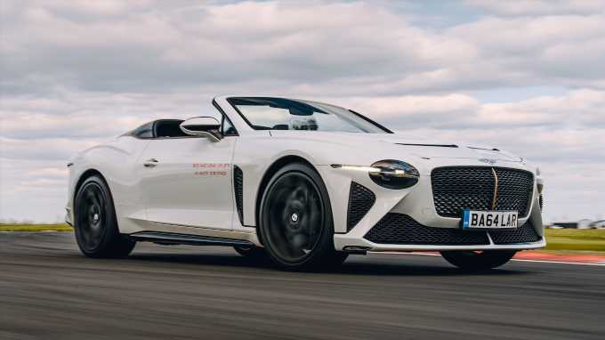 Bentley Mulliner Bacalar First Drive: 12 Examples, 200 MPH, $1.9 Million!