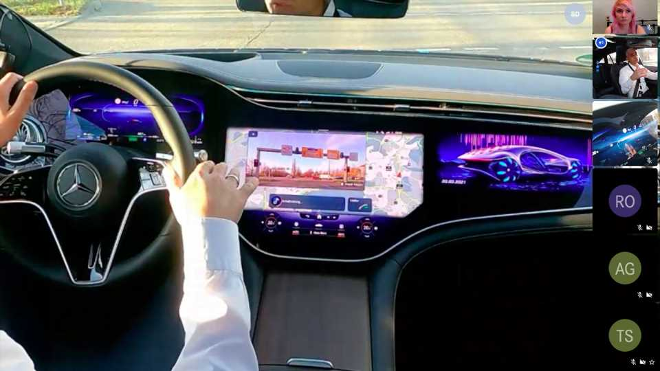 Mercedes-Benz EQS Virtual Test Drive: Some Things Just Don't Work Over a Video Call