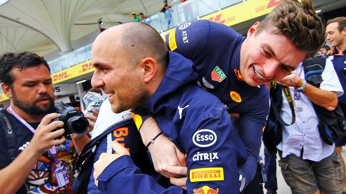 Max Verstappen praises influnce of his 'very passionate' race engineer