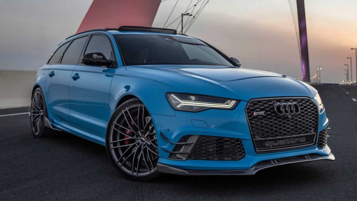 Fully Customized Audi RS6 Is What Wagon Dreams Are Made Of