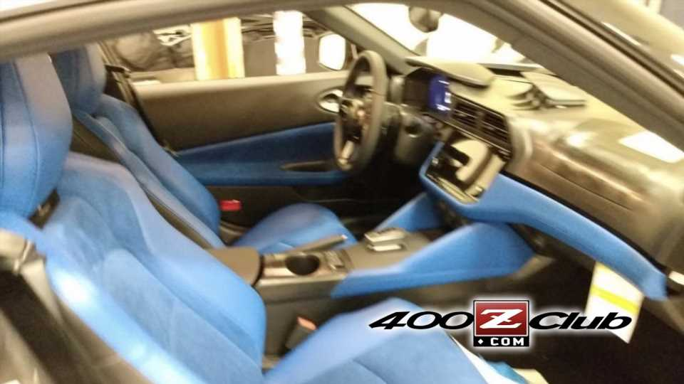 Check Out the New Nissan Z's Throwback Blue Interior