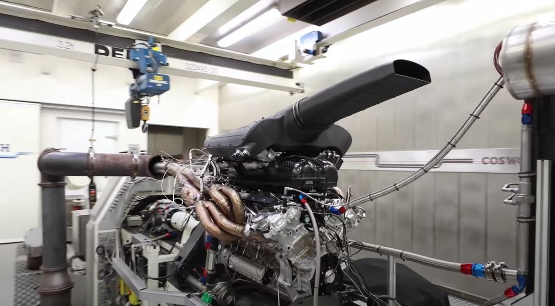Watch And Listen To The GMA T.50's N/A V12 Topping 10,000rpm On The Dyno