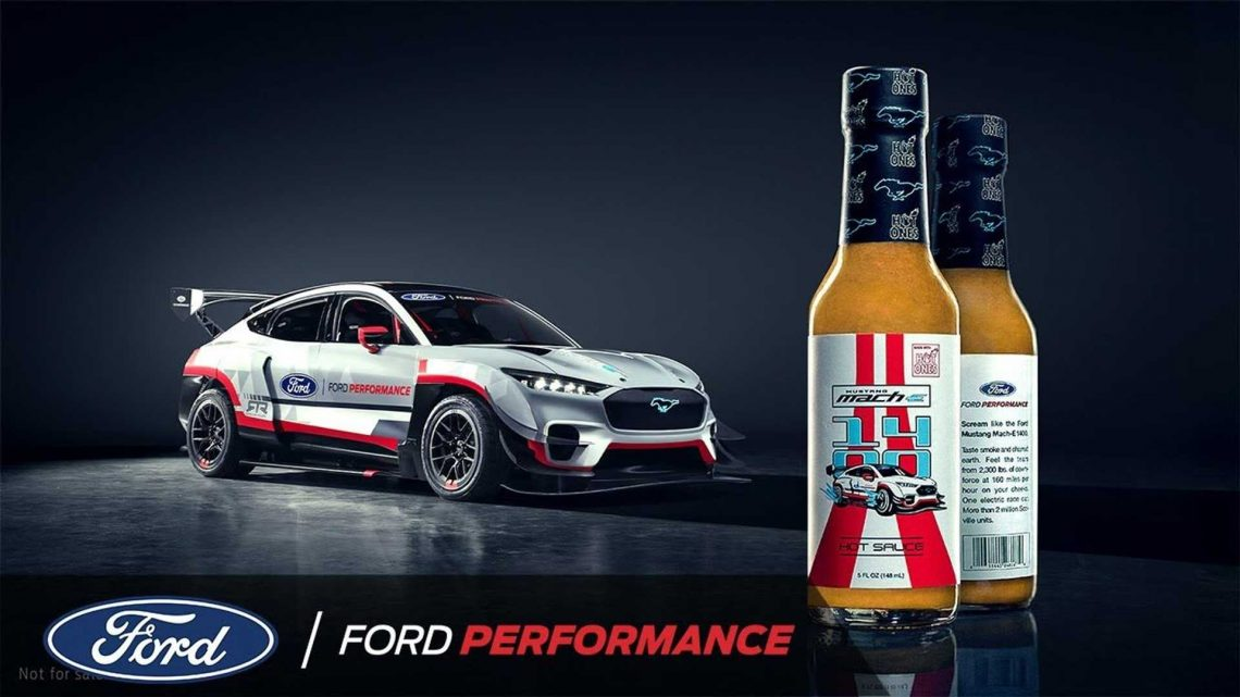 Ford Mustang Mach-E 1400 Is Now A Hot Sauce: Wait, What?