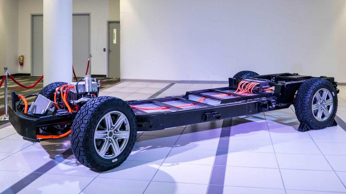 Lordstown Endurance Pickup Truck Battery Is 109 kWh