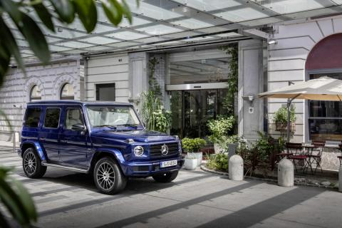 Mercedes-Benz EQG name trademarked for electric G-Class SUVs