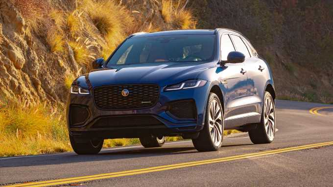 2021 Jaguar F-Pace First Drive Review: How to Grin From Ear to Ear