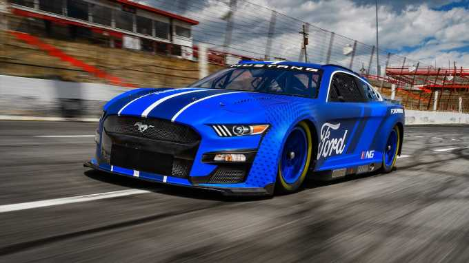 2022 Ford Mustang Next-Gen NASCAR Cup Series Racer Revealed