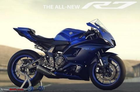 All-new Yamaha YZF-R7 images leaked ahead of unveil