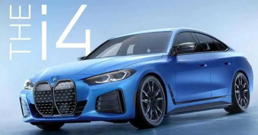 BMW i4 M50 xDrive ahead of official debut in the US on June 1 – first M Performance EV model with 530 PS – paultan.org