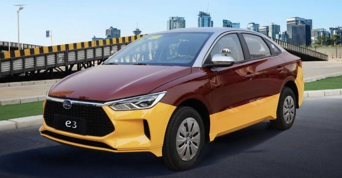 BYD e3 EV – Battery-electric sedan with simulated manual transmission for driving schools in China – paultan.org