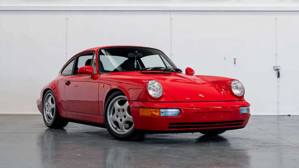 Buy This 101-Mile 1991 Porsche 964 Carrera RS and Then Drive the Hell Out of It