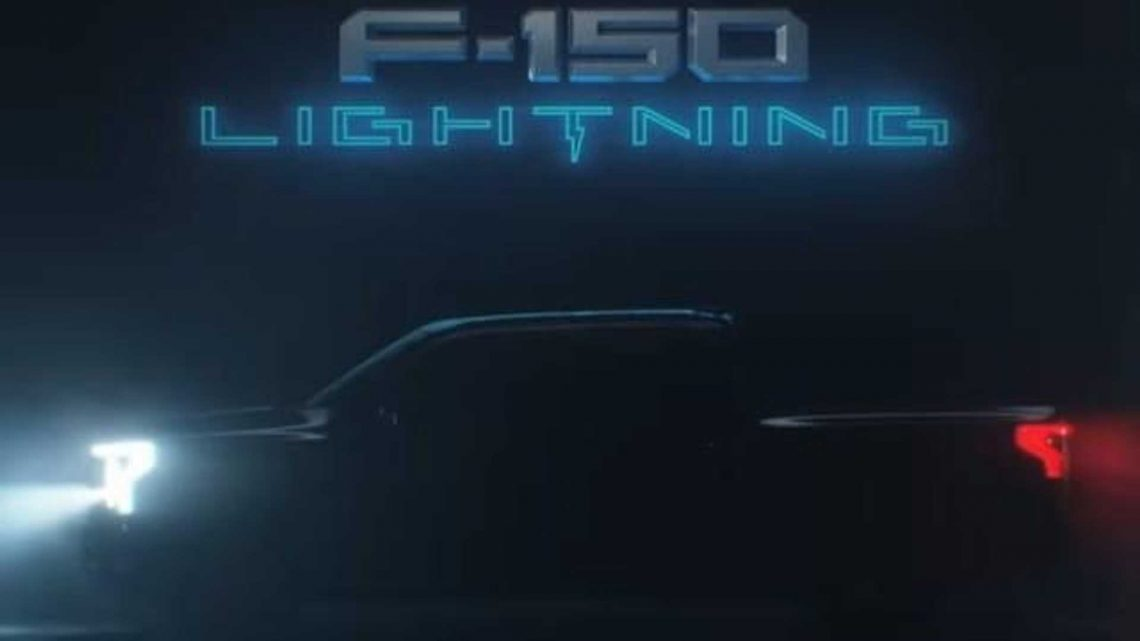 Check Out The Ford F-150 Lightning Truck's Full Profile