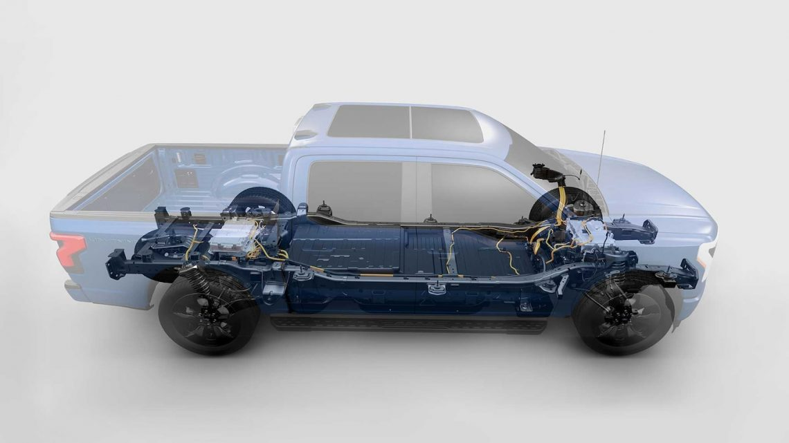 Ford Battery Joint Venture Produces Advanced Battery for F-150 Lightning