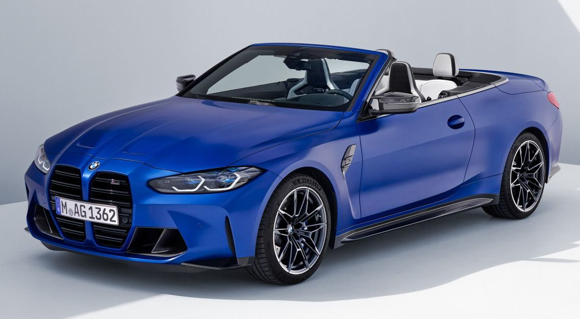 G83 BMW M4 Competition Convertible with M xDrive debuts – now with folding soft top; 510 PS; AWD – paultan.org