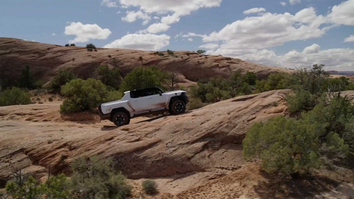 GMC Hummer EV Hits The Rocky Desert For More Extreme Testing