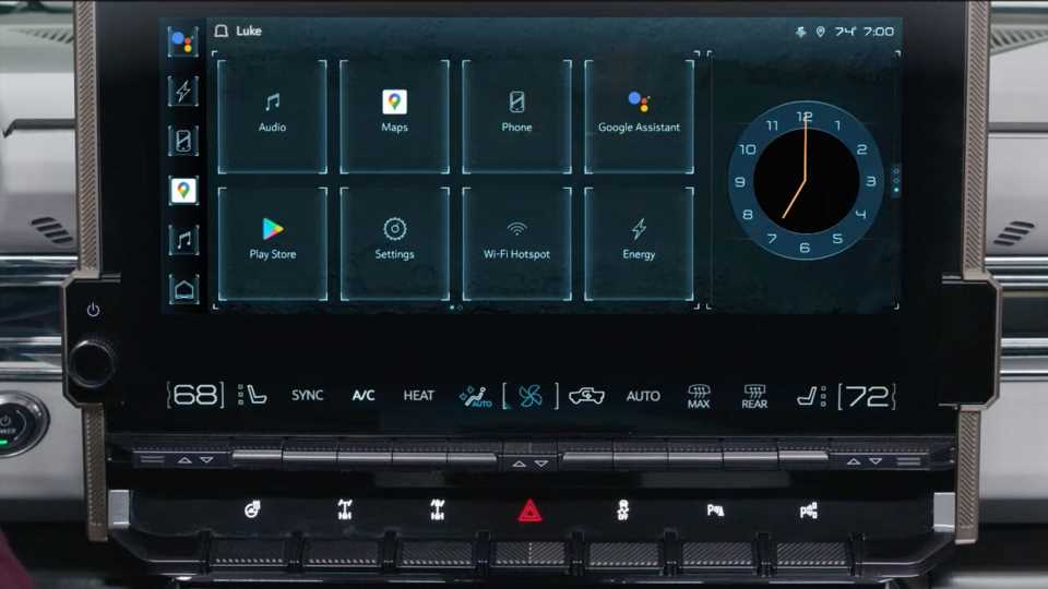 GMC Hummer EV Will Have Android-Powered Infotainment System With Google Assistant