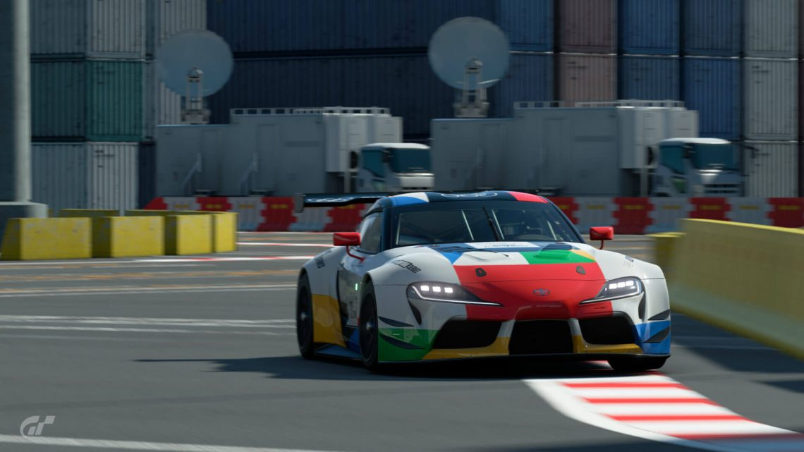 Gallo Sets Fastest Lap in GT Sport's Highly Competitive Olympic Qualifier