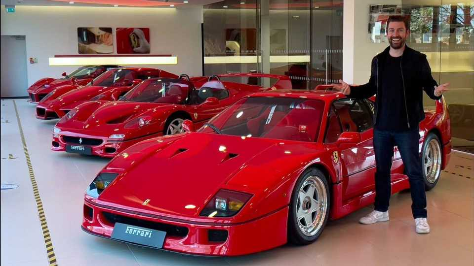 Incredible $15M Ferrari Collection Has Brand's Five Greatest Hits