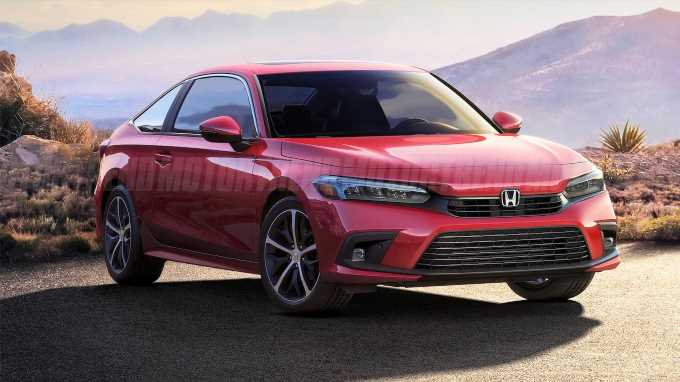 Meet the Hypothetical 2022 Honda Civic Coupe
