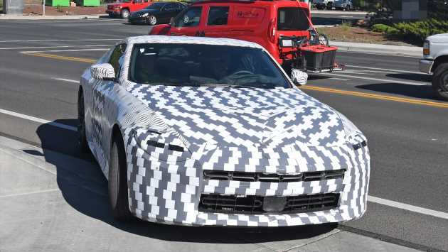 New Nissan 400Z sports car spied for the first time