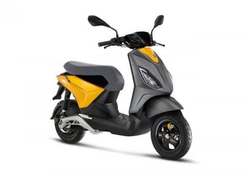 New Piaggio One e-scooter unveiled ahead of global debut