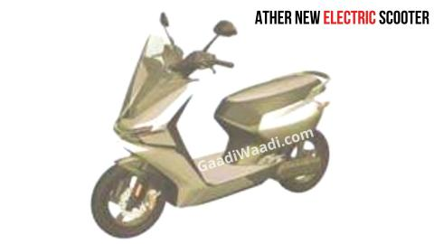 Patent images reveal Ather Energy's new electric scooter