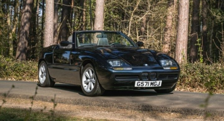 Rare Ragtop: BMW Z1 Heads to Auction