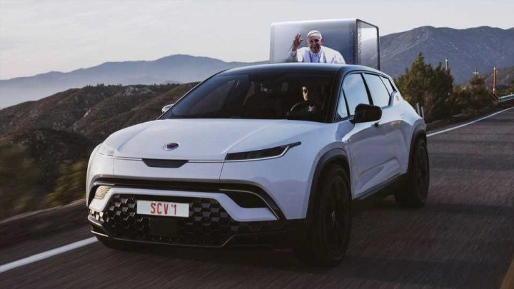 The First All-Electric Popemobile Will Be Made By Fisker, Apparently