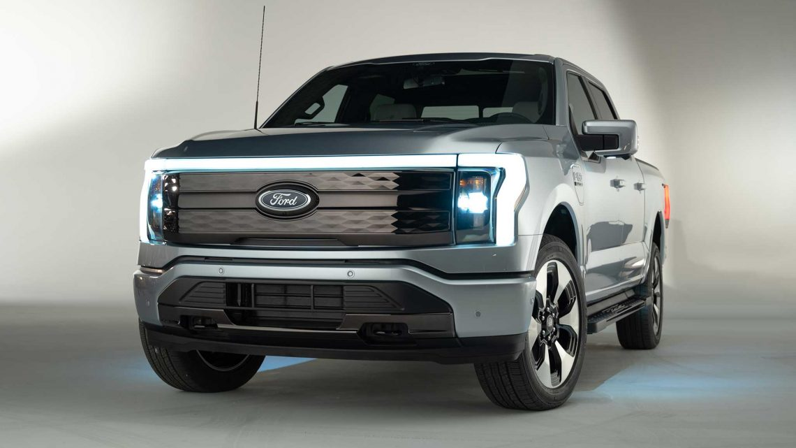 We Ride in the Impressive 2022 Ford F-150 Lightning