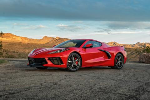 1st batch of right-hand-drive C8 Corvettes going to Japan