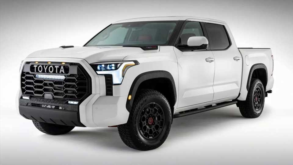 2022 Toyota Tundra TRD Pro Shown in Official Photo After Earlier Leaks