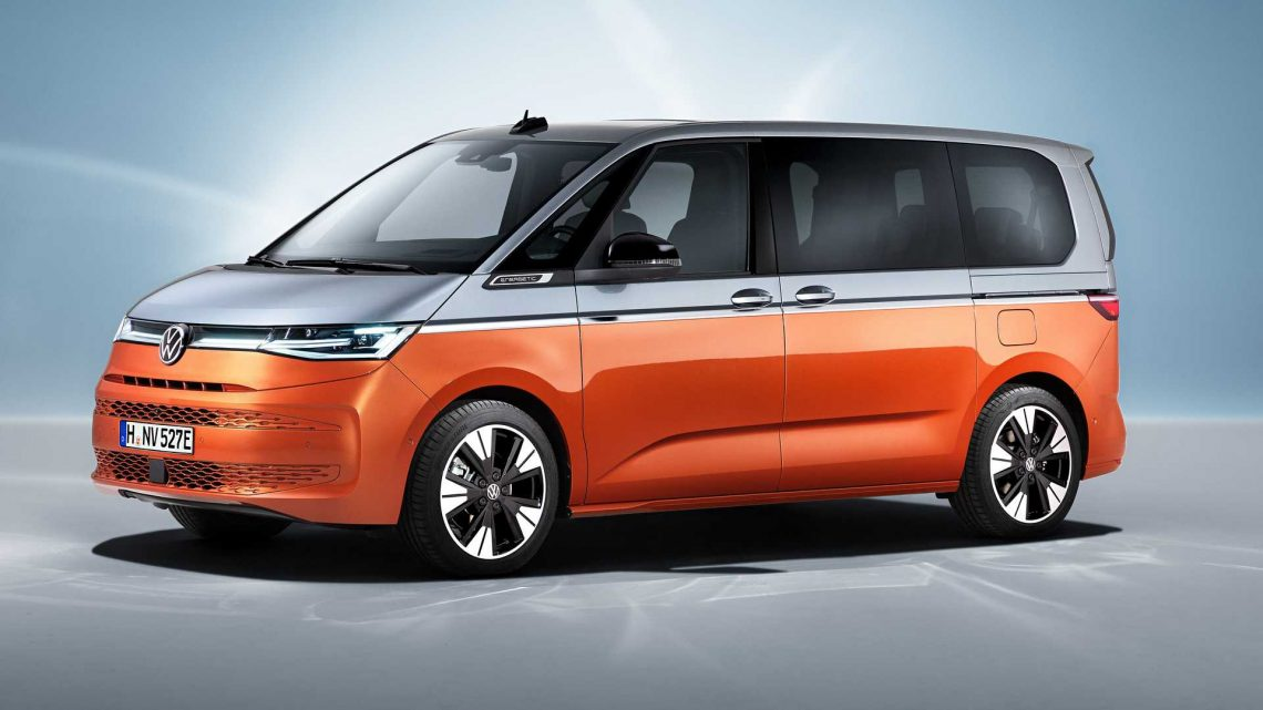 2022 VW Multivan T7 Debuts With More Versatility And Hybrid Power