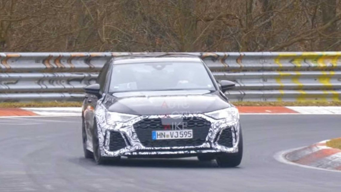 Audi RS3 Sportback Spy Video Shows Our New Favorite Hot Hatch