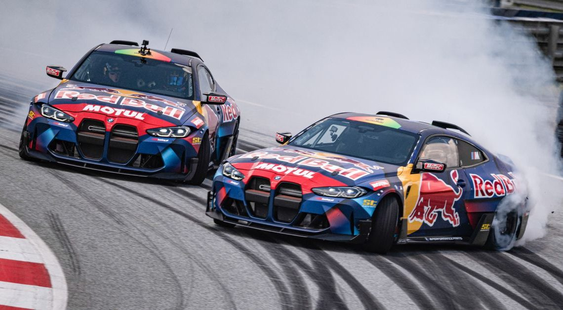 BMW M unveils two modified M4 Competition for the Red Bull Driftbrothers – each with 1,050 hp, 1,300 Nm! – paultan.org